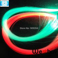Free shipping PMMA optic fiber strans 1.5mm 100pcs X2meter for led light illuminator, light source.
