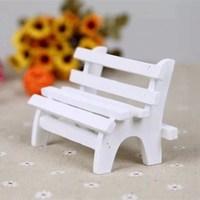 Fashion For za kka mini wool decoration chair wooden props mini furniture 11*5*6cm