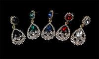 Beautiful Rhinestone Earrings Exclusive For Evening Dress Fashion In Jewelry