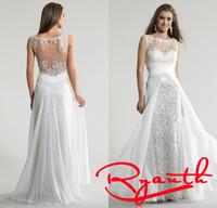 Vestidos Longos Long Prom Dress Para Casamento New Years Eve Dresses Fashion Social Dresses White Evening Dress Party RBE027