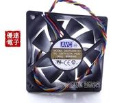 AVC 7CM 7020 12V 0.7A 4 line temperature control large volume CPU fan DESC0715B12U