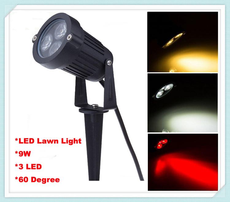 Газонная лампа Shinning 10pcs/lot 9W 3 AC 110 /220 Lawn-007 10pcs lot nt5tu64m16gg ac