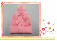 New Cute Fashion Warm cap Winter Animal Hats  children knitted hat Little bear hat baby girls/boys hats Baby hat