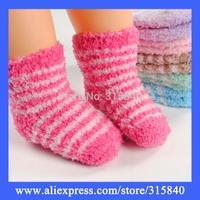 1Pair Winter Sweet Baby Socks Children Kids Socks Boys And Grils Sock Footwear Suitable For 0-1 Years Old -- SKA07 SKA51 Retail
