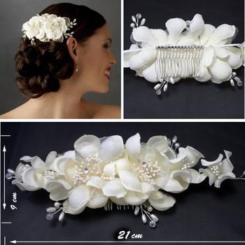 Европейский стиль ручной работы свадьба цветок шляпа ас в свадьба фото невесты головные ...