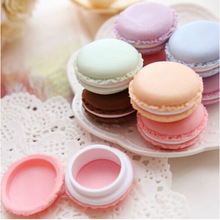 New 5Pcs Jewelry Box Gift Mini Macarons Box Candy Color Storage Box For Jewelry Organizer