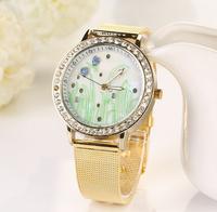 Luxury Design Elegant Women's Watch gold fashions quartz watch for female women dress Clock relogios relojes wristwatchesXR518