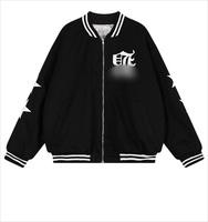 2015 New sale!Winter Autumn ladies Chic couples men and women fleece jacket baseball Harajuku gothic letters printing Jacket