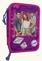 Original Violetta Girl Bag Printed Color Pen Bag School Pencil Case Bags for Girls Pencilcase Estojo Escolar Free Shipping