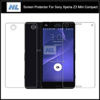 10X Ultra Clear Screen Protectors For Sony Xperia Z3 Compact High Transparent Protective Guards Films For Xperia Z3 Mini M55W