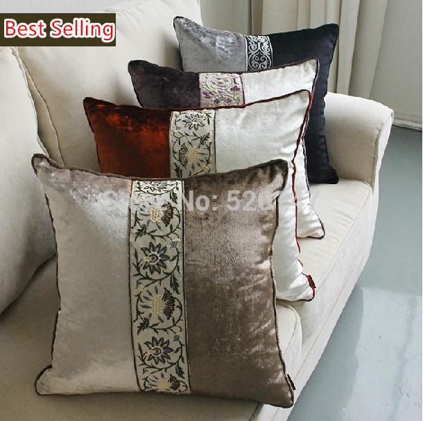 Чехол для подушки своими руками декоративные