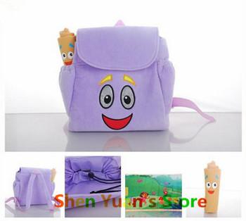 Новое поступление детей плюшевые мультфильм рюкзак дети девушки школьные сумки симпатичные ...