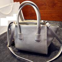 New Arrival Women Handbag Leather Fashion Tote Bag New Design Trapeze Bag Shoulder Messenger Bag Women Satchel Bag