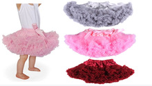 Baby toddler infant pettiskirt tutu  Baby girls ruffled pettiksirt petticoat   6-24 Mo(China (Mainland))