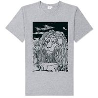 bob marley handsome reggae line silk printing soft comfortable tee shirt unisex