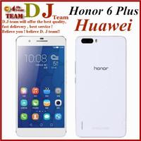 Original Huawei Honor 6 Plus Dual SIM 4G LTE Mobile Phone Octa Core 3GB Android 4.4 5.5'' IPS 1920*1080 Dual Rear Camera 8MP