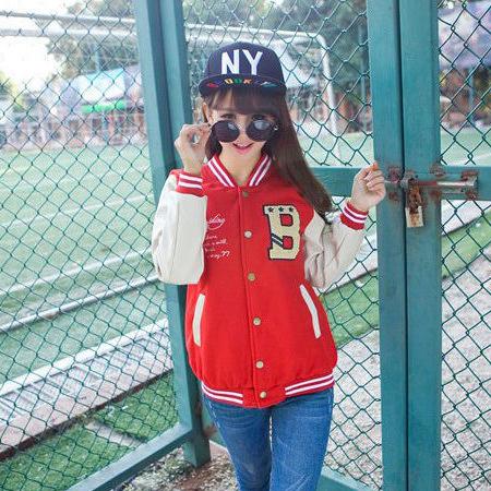 2015 women winter coat Korea style Shabaz brand S-51 full sleeve cotton thick coat(China (Mainland))