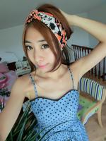 free shipping wholesale/Retail  lady fashion cotton hair band, women twist headband