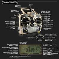 6Ch Transmitter / Controller Set Parts For WLToys V966 V977 V930 V931 V988 Remote Control RC Helicopter
