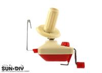 Free Shipping Red yarn wire wrap machine, Yarn hand-winding machine needlework tools, knitting machine, yarn machine