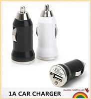 Wholesale 2000pcs WHITE BLACK Mini USB Car Charger Colorful chagers for iphone 6 6+ 5s/Samsung Galaxy Note 4 3 S5 #CC001