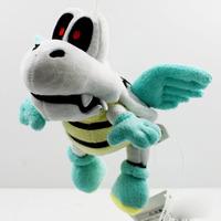 20PCS/Lot Free Shipping 2014 Cute Super Mario Bros. 18cm Plush Flying Winged Dry Bones Soft Toy Stuffed Animal