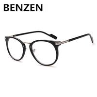 2015 Computer Goggles Vintage  Plain Glasses Round  Optical Glass Frames Clear Lens  Radiation Eyewear 5029