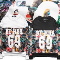 2015 Winter Fleece Cotton Flower Pullover HBA Brand Men Black Blazer Hoodies Coat Fashion Hip Hop 69 Flag Floral Sweatshirt