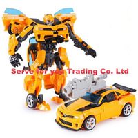 Action Figure toys 42cm robot Bumblebee Robocar car model 2015 New Toys Education brinquedos meninos free shipping