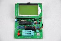 HIGH QUALITY  GM328 LCD Display transistor tester ESR meter Cymometer square wave generator