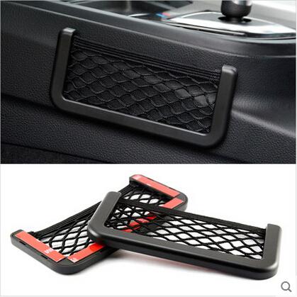 Pour Mitsubishi asx Lancer pajero voiture boîte de transport portant des sacs de véhicule - monté téléphone mobile boîte de recevoir divers sac de papier(China (Mainland))