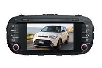 SOUL 2014- Touchscreen DVD GPS Navigation Radio Bluetooth Steering Wheel Control SD Card/USB Car Rear Camara with Map