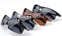 Hot Selling designer Aluminum Magnesium Polarized Goggles Driving sport bike Glasses men sunglasses