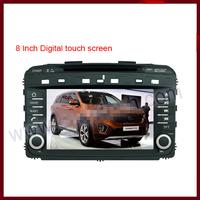 SORENTO 2015- Touchscreen DVD GPS Navigation Radio Bluetooth Steering Wheel Control SD Card/USB Car Rear Camara with Map