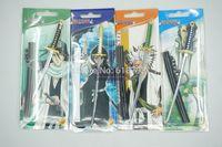 Short delicate sword mold keychain bleach anime Aizen/Kuchiki Byakuya/Rukia/Toshiro swords key chain BL25