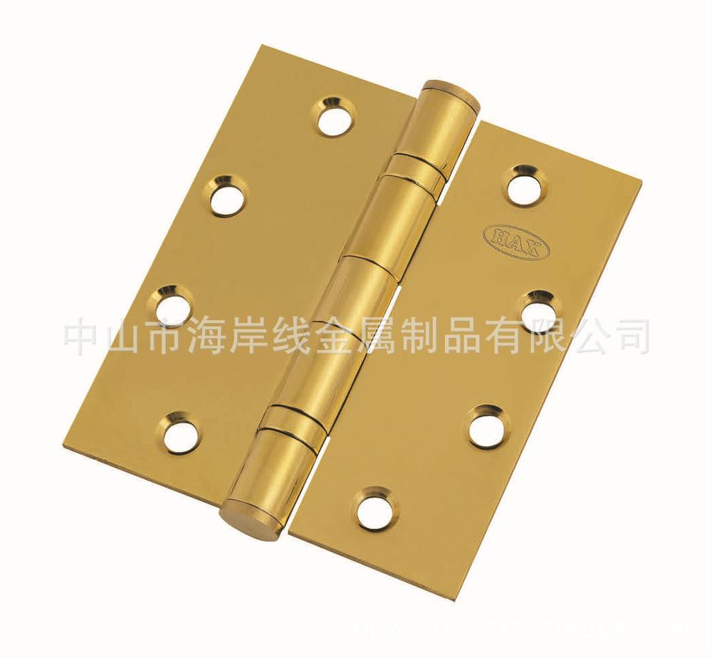 Direct factory price 4x4x3.0 stainless steel hinge hinge bearing hinge naked PVD plated hinge 304(China (Mainland))