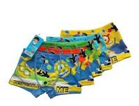 10pcs/lot Cartoon pattern minion Panties boys cotton underwear Children Despicable Me briefs & boxer boy's shorts free shipping