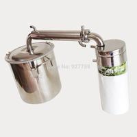 DIY Moonshine Ethanol Stainless Distiller 20L Spirits (alcohol) Distillation Boiler Home Winemaking Brewing Equipment