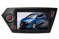 K2 2011- / RIO 2012- Touchscreen DVD GPS Navigation Radio Bluetooth Steering Wheel Control SD Card/USB Car Rear Camara with Map
