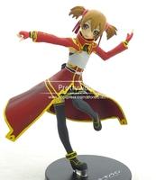 High quality  JP Anime Figure Sword Art Online SAO Figure Action Shirika 17cm Height Figure Collection J-0990