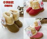 winter 2014  short boots for girl  fashion warm girls boots shoes   free shipping
