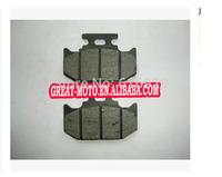 motorcycle Kevlar Carbon rear Brake disc Pads plate for KLX250 KDX200 TTR250 KDX250 KDX125