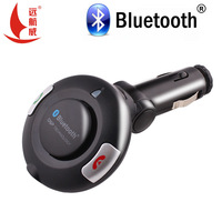 2015 high quality Bluetooth car kit handsfree speaker car phone automatically connect BT06 cigarette with outer ring type horn