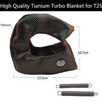 TITANIUM turbo heat shield turbo blanket fit : t25 ,t28 ,gt25, gt28 and most t25 turbine housing turbo charger