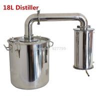18L Stainless Steel Spirits (Alcohol) Distiller Bar Household Brewing Equipment Wine Limbeck Vodka Whisky Distillation Boiler