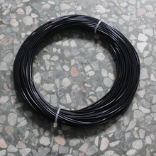 Black Color 3D Printer Filament PLA 20M plastic Rubber Consumables Material MakerBot/RepRap/UP/Mendel