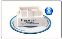 Latest V2.1 White Super Auto Code Reader Support All OBD 2 ii Protocols Android Mini ELM327 Bluetooth OBD2 Scanner Smart