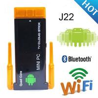 J22 Quad Core RK3188 Mini PC Android 4.4 Smart TV Stick 2GB  8GB HDMI Bluetooth XBMC CX-919 II CX 919II CX 919 II Dual Antenna