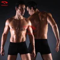 Free Shipping Swimwear Men Swimming Trunks for Bathing Swimwear Briefs Sexy Solid Swimsuit Underwear Masculinas Moda praia