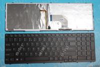 laptop keyboard US layout for SONY SVE15 BLACK FRAME BLACK (Backlit For Win8,Version1) 149074611USX